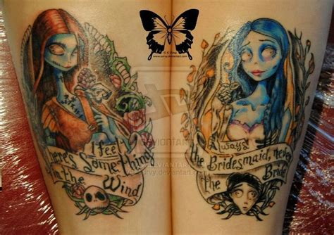 tattoo nightmares couples therapy 46 best corpse bride couple tattoos images on pinterest
