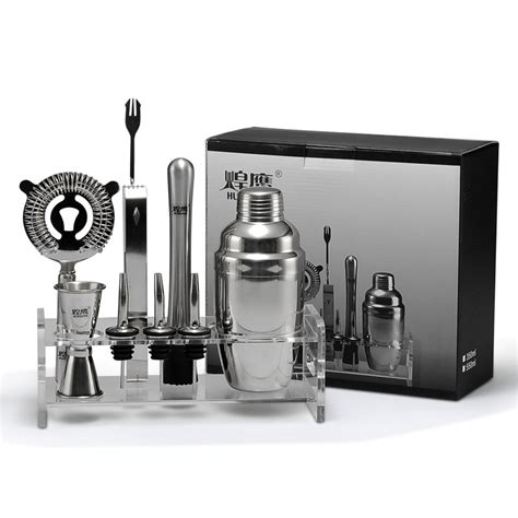 cocktail set high grade bar set deluxe cocktail shaker set cocktail