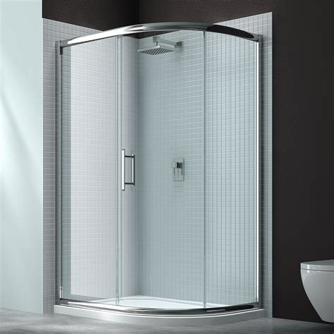 Modern Portable Shower Stall With Glass Borders HOUSE