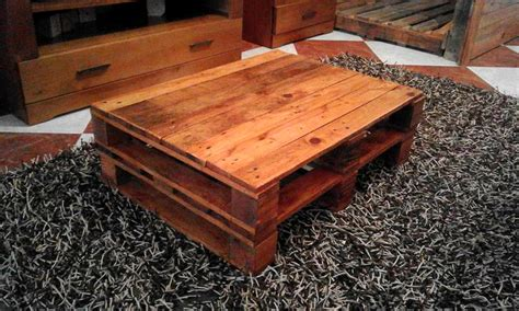 Wooden Pallet Coffee Tables Rustic Coffee Table Made Out Of Pallets 101 Pallet Ideas