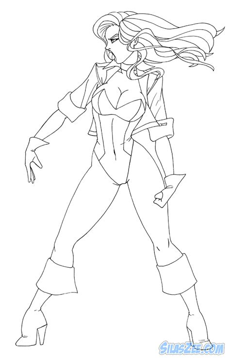 black canary coloring pages coloring pages