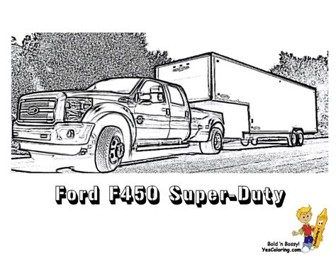 ford trucks coloring page american pickup truck coloring sheet free trucks jeep