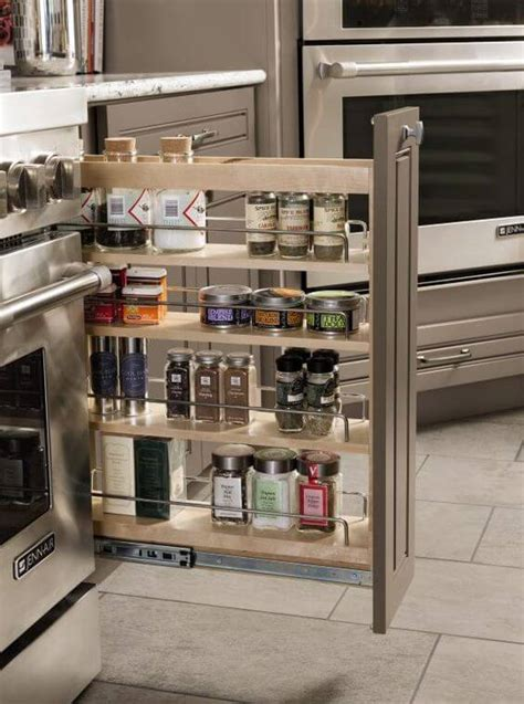 Slim Pull Out Pantry by Eight Great Ideas For A Small Kitchen Interior Design