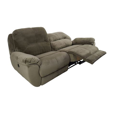 raymour and flanigan power recliner sofa 80 off kathy ireland home by raymour and flanigan kathy