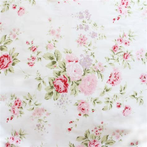 shabby chic barkclothfabric by the shabby chic fabric