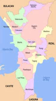 city map of luzon philippines free printable maps