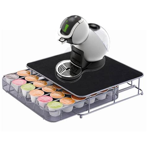 Kitchen Colour Design Tool dolce gusto coffee pod stand and drawer storage holds 36