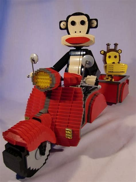 Lego Make By Paul Frank by Paul Frank S Julius And Clancy In Lego By Brickbaron