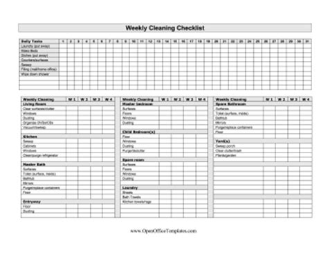 daily planner template open office week printable schedule calendar template 2016