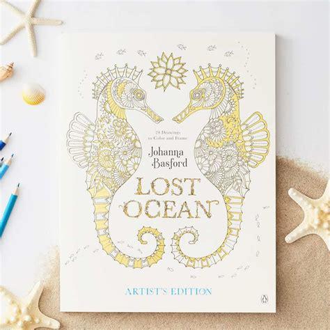lost ocean artists edition lost ocean artist s edition basford basford