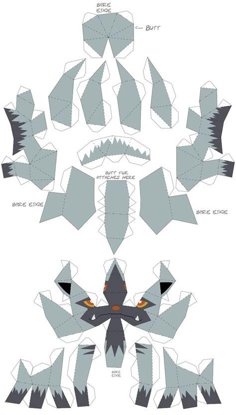 Poke Papercraft - 18 best images about diy מסכות לילדים on to