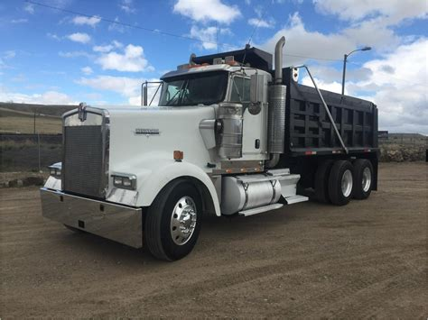 kenworth shop dump truck for sale w900l dump truck for sale