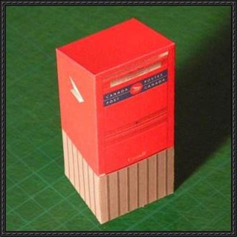 How To Make Letter Box With Paper - papercraftsquare new paper craft simple canada post