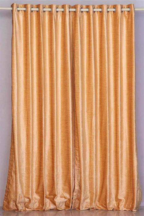 peach drapes peach ring grommet top velvet curtain drape panel
