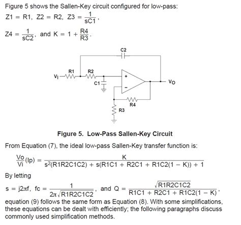 high pass filter equation for gain op low pass filter and gain calculation electrical