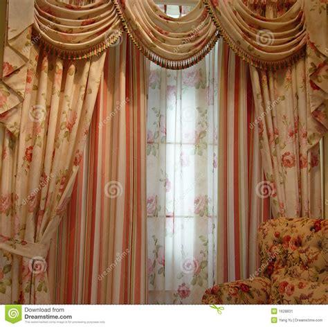 Dining Room Draperies luxury curtain stock image image 1628831
