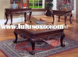 wood carved table ls carved coffee table set carved coffee