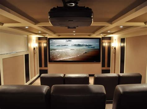 Minimalist Home Theater Design From Cedia Best Home Theater Design