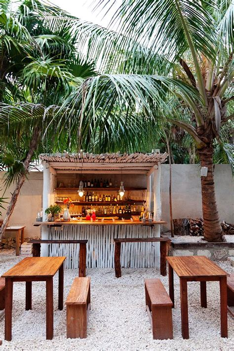 backyard beach bar la treehouse hartwood mexico