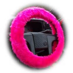 Steering Wheel Covers Fuzzy Fuzzy Pink Fluffy Steering Wheel Cover