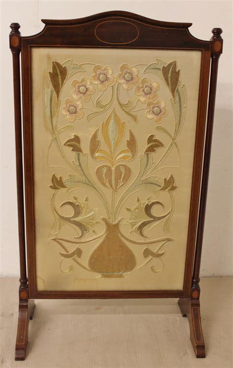 mahogany firescreen c 1890 loveantiques