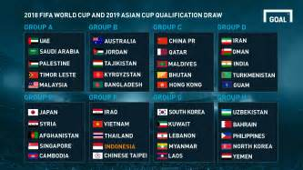 United Arab Emirates Uae Calendario 2018 2018 World Cup And 2019 Asian Cup Qualification Draw Out