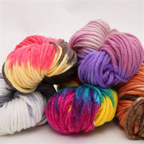 knitting thick yarn 250g thick wool yarn for knitting crochet