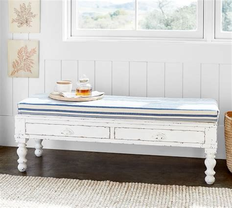 pottery barn white bench pottery barn 25 off sale save furniture home decor