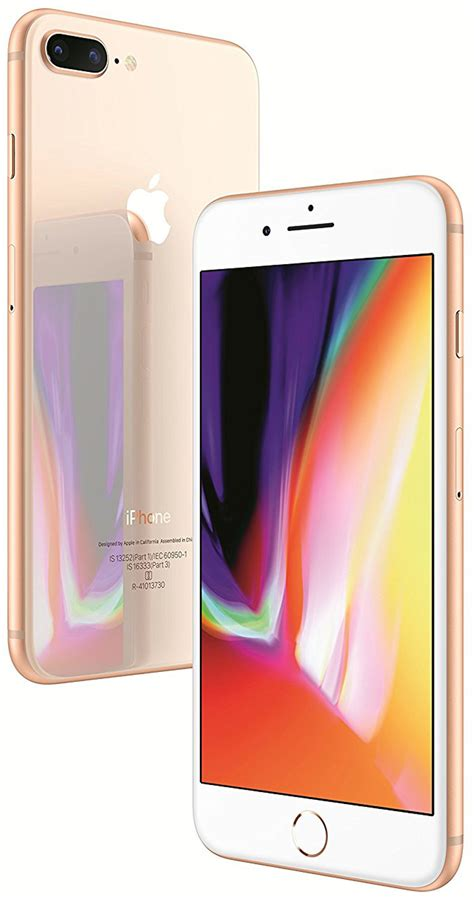 apple iphone 8 plus 64gb price shop apple iphone 8 plus 64gb gold mobile at shop gn