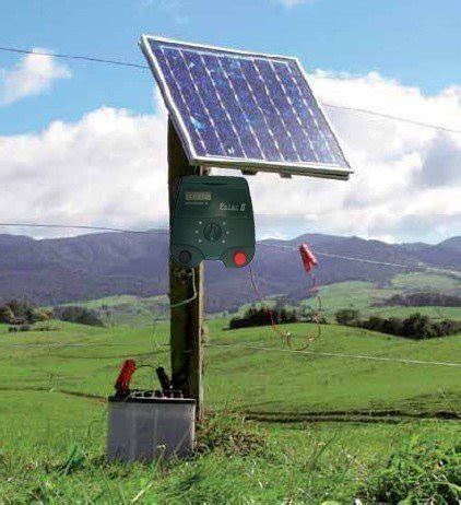 best solar electric fence charger electric fence dc powered electric fence