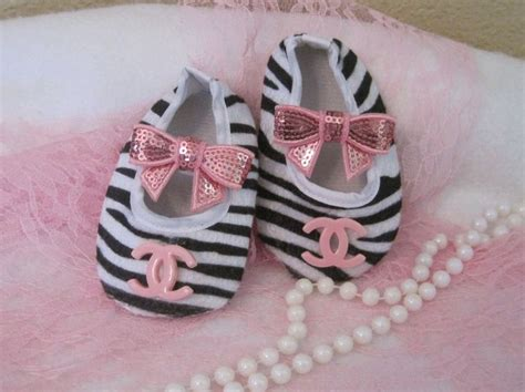 chanel baby shoes baby crib shoes chanel and zebra baby shoes