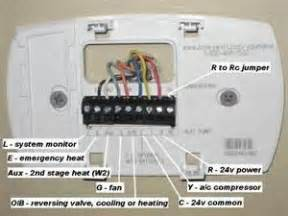 wiring diagram for honeywell thermostat here is an example
