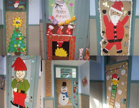dibujos para decorar puertas de navidad concurso de puertas decoradas ies tegueste