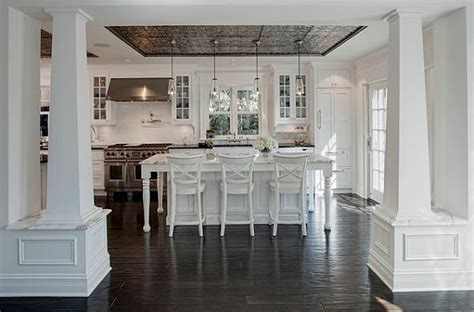 Ideas For Kitchen Wall Tiles adding pressed tin into your home decor