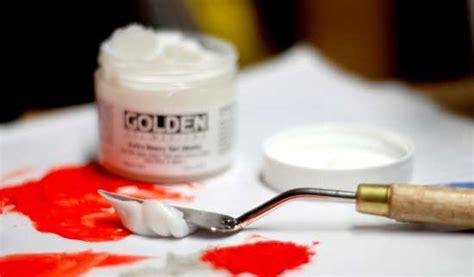 acrylic painting using medium how to use acrylic gels mediums part 1