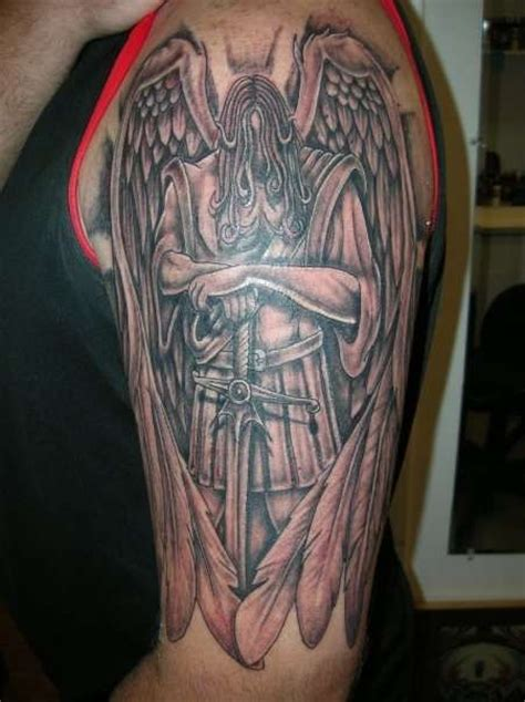st michael archangel tattoo designs st michael archangel michael awesome