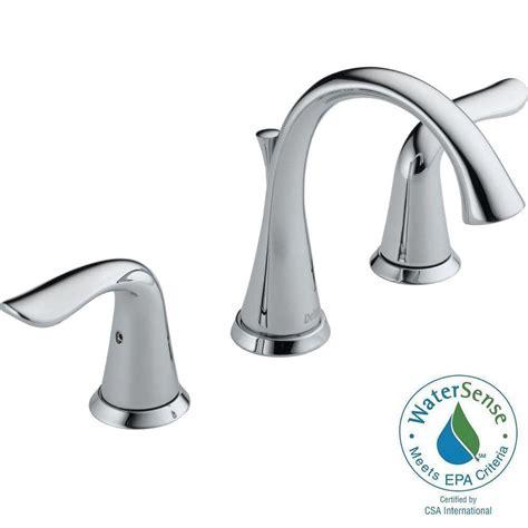 Delta Silverton Faucet by Delta Silverton In Widespread Handle Bathroom Faucet In