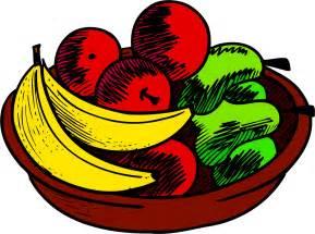 fruit bowl fruit basket clip art cliparts co