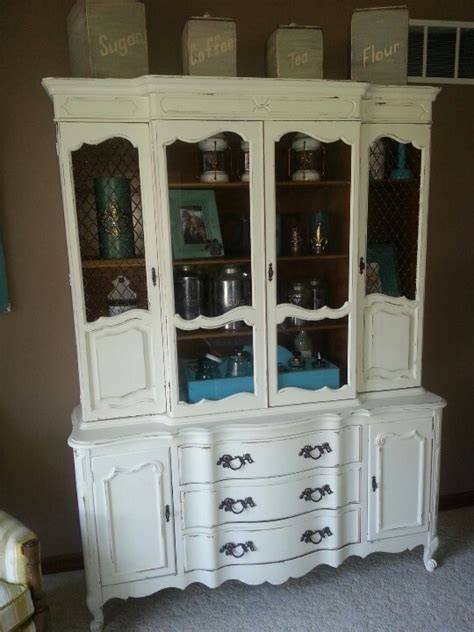 distressed china cabinet 17 best images about distressed furniture on casual dining rooms painted cottage