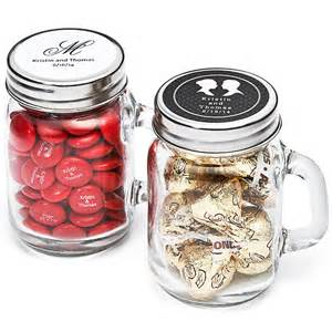 jar favors personalized glass jar favor holders