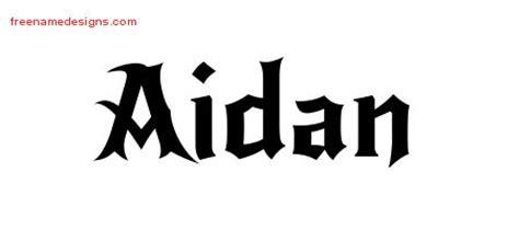 design name tattoo online free name designs aidan free free name