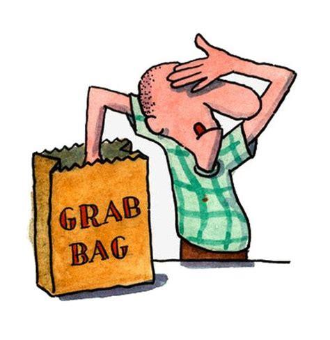 christmas grab bag list grab bag clipart
