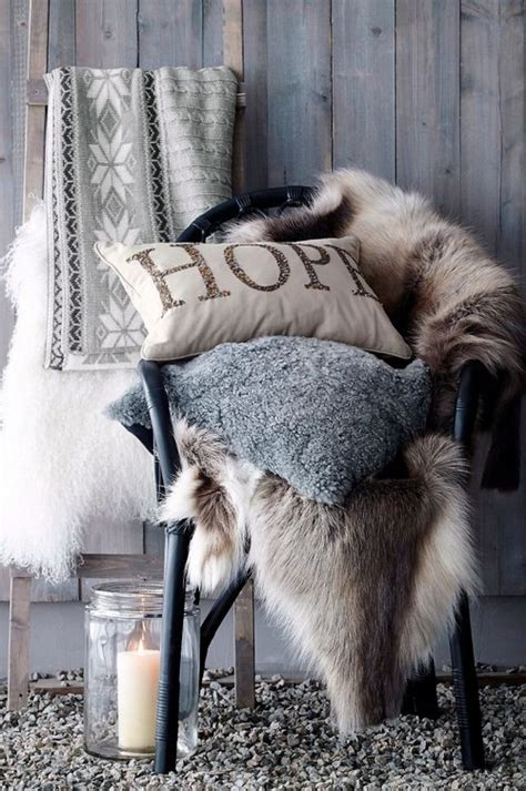 cozy and comfortable fluffy and cozy winter inspired interiors 20 photos