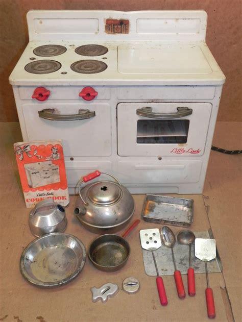 toy range vintage empire toy little lady electric stove kitchen