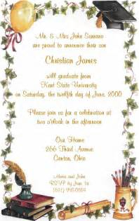 sle college graduation invitations wording wedding invitation ideas