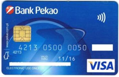 Key Bank Visa Gift Card - bank card visa bank pekao sa poland col pl vi 0097