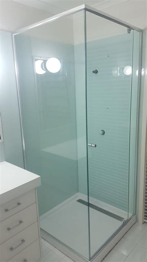 semi frameless glass shower screens clearly glass