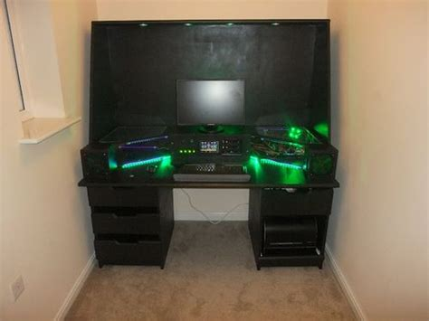 Crazy Computer Built Into Desk Interesting Idea But I D Computer Built Into Desk