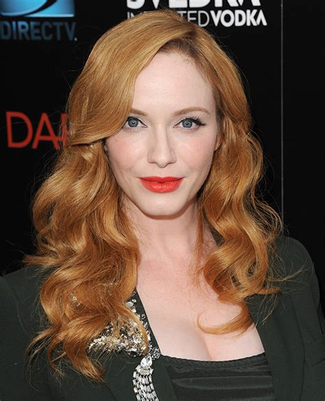 reviews on weaveologist fashion hendricks christina hendricks talks red hair dye and making hair