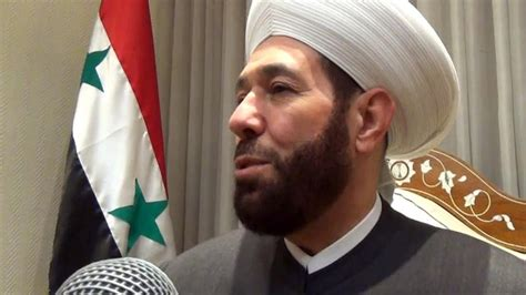 Turban Syiria by Grand Mufti Of Syria Quot Terrorism Is A New Ideological